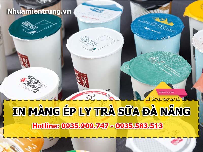 In màng ép ly trà sữa Đà Nẵng